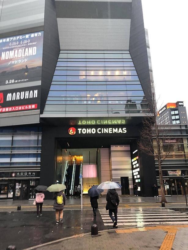 TOHOシネマズ新宿初日の風景