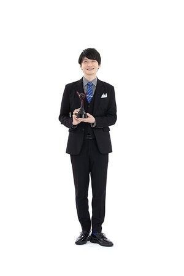 第15回「声優アワード」で、助演男優賞を受賞した島﨑信長さん