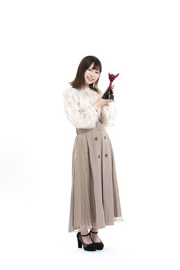 第15回「声優アワード」で、新人女優賞を受賞した逢来りんさん