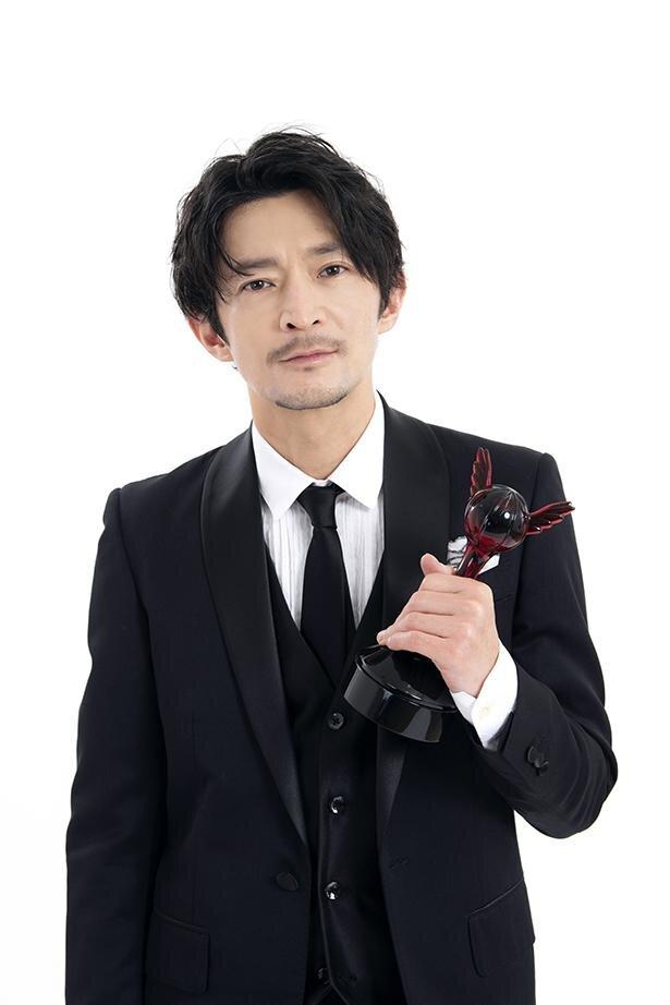 第15回「声優アワード」で、主演男優賞を受賞した津田健次郎さん