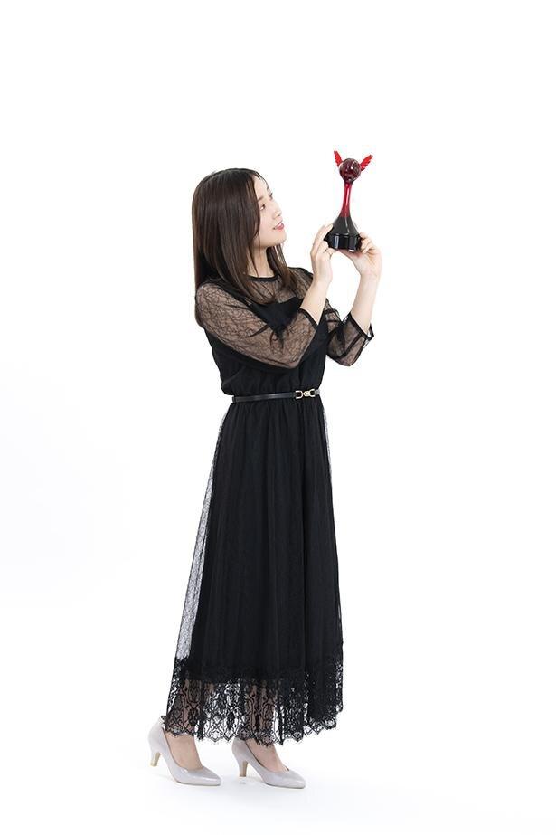 第15回「声優アワード」で、新人女優賞を受賞した市ノ瀬加那さん