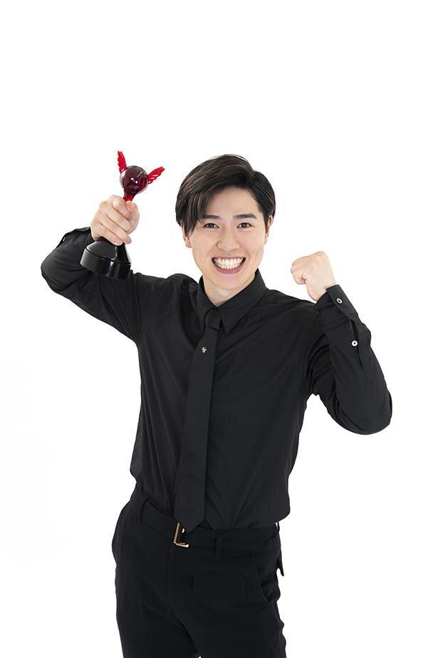 第15回「声優アワード」で、新人男優賞を受賞した土屋神葉さん