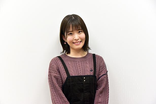 平原陽桜莉役を演じる石見舞菜香さん