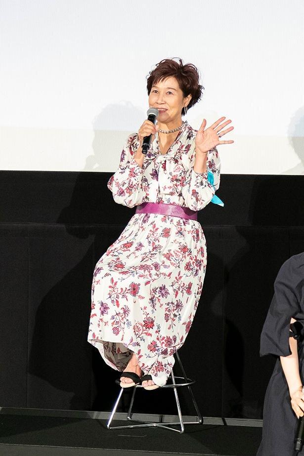 赤木リツコ役の山口由里子さん