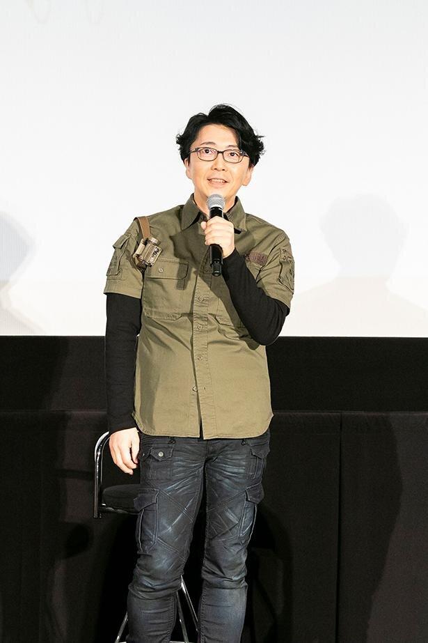 相田ケンスケ役の岩永哲哉さん