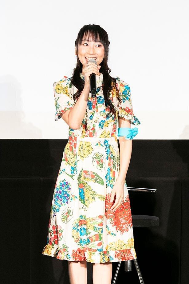 伊吹マヤ役の長沢美樹さん