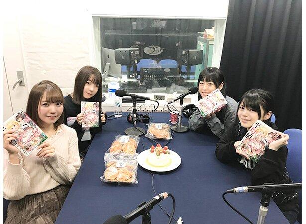 左から、和氣あず未さん、田澤茉純さん、徳井青空さん、内村史子さん