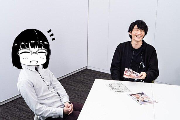 漫画家の緋鍵龍彦さんと声優の島﨑信長さん