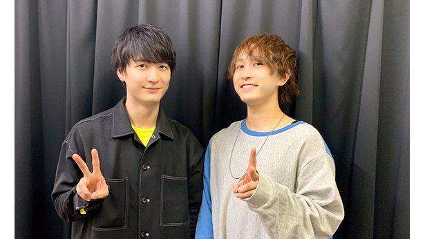 TVアニメ「プランダラ」よりリヒトー=バッハ役中島ヨシキさん(右)とジェイル=マードック役梅原裕一郎さん(左)