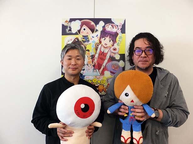 左から、東映アニメーションの永富大地さん、ポノス ダークホーススタジオの岩原ケイシさん
