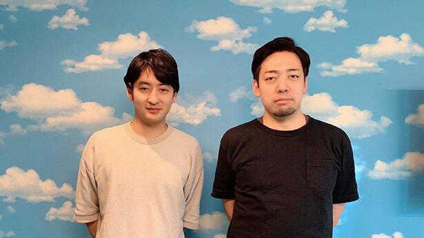 監督の立川譲さん(左)と、プロデューサーの角木卓哉さん(右)