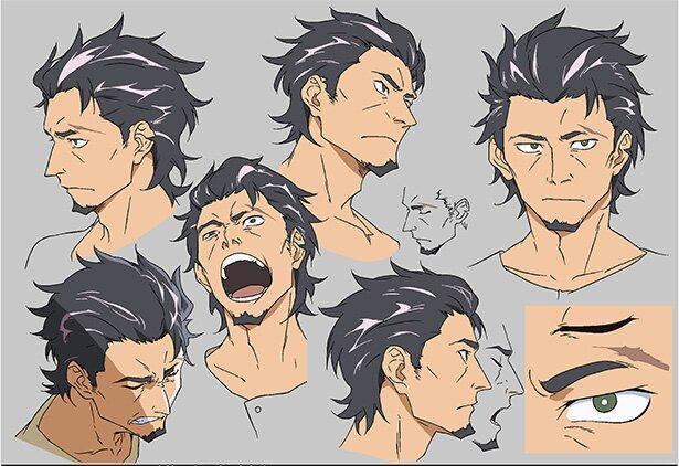 カブラギの表情集