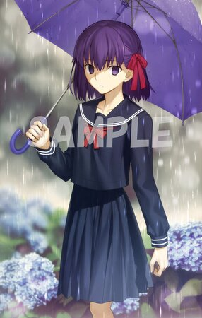 「Fate/stay night」武内崇イラスト アクリルパネル<桜 中学生ver.>