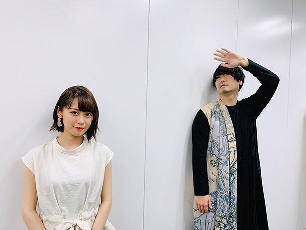 カブラギ役の小西克幸さんと、ナツメ役の楠木ともりさん