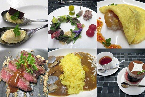 料理は6種類。