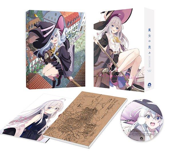 「魔女の旅々」Blu-ray/DVD BOX 上巻は、2021年1月27日発売